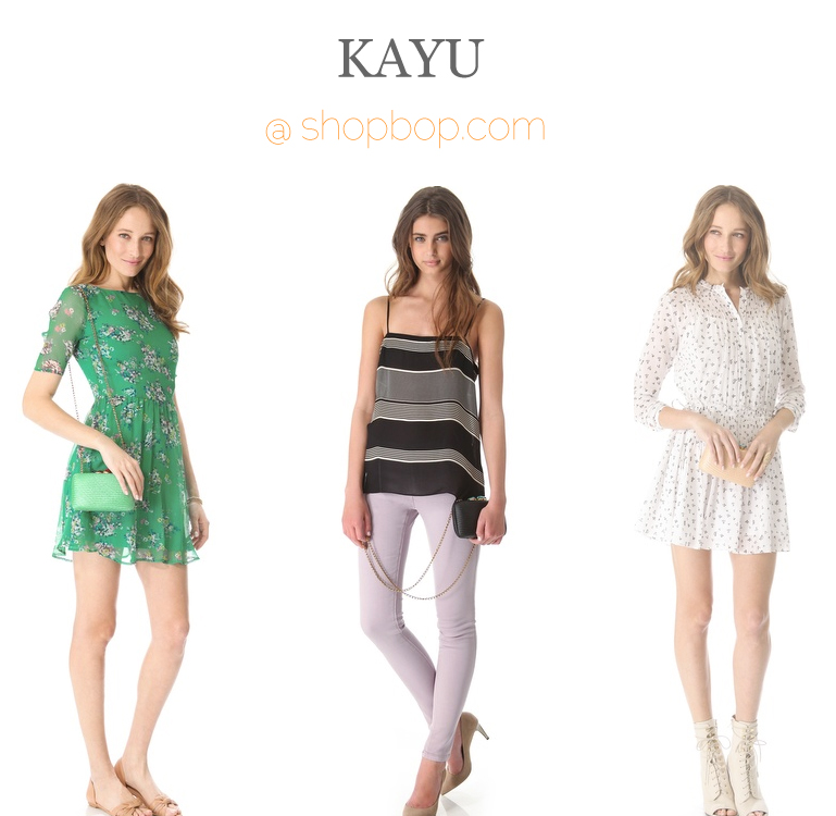 Kayu at Shopbop
