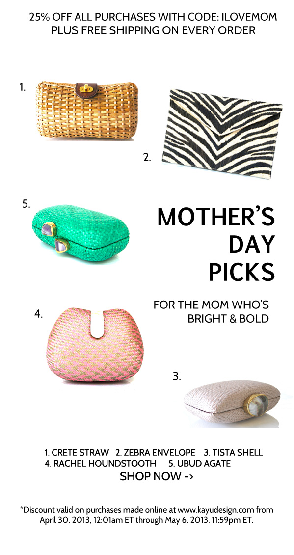 Kayu Mother's Day Gift Guide