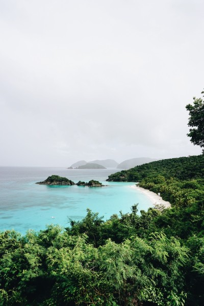 St. John is home to Trunk Bay, one of the world's most beautiful beaches.