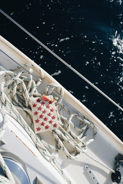 This Kayu Star Pouch makes the perfect companion for a sunset sail.